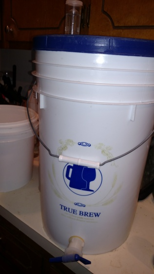 Bottling bucket...good for primary fermentation of 5 gallon wine batch.